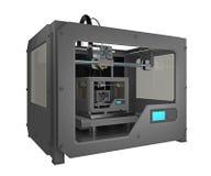 принтер 3d печати принтера 3d малый Стоковая Фотография