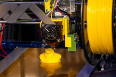 принтер 3D Стоковые Фото