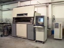 принтер 3D & x28; SLS& x29; стоковое фото rf