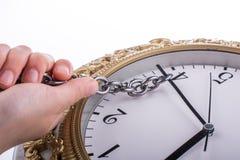 Принуждать время изменить стоковое изображение rf