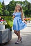 Принцесса в парке стоковое изображение rf