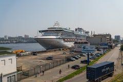 Принцесса диаманта туристического судна Стоковая Фотография RF