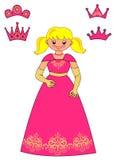 Принцесса Игра для детей Стоковое Изображение
