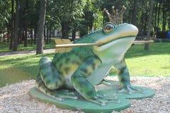 Принцесса лягушки Стоковое Изображение RF