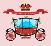 Принцесса плоского автомобиля Стоковые Изображения