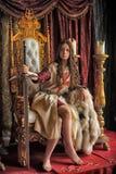 Принцесса ратника Стоковые Фото