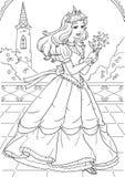 Принцесса иллюстрация вектора