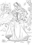 Принцесса иллюстрация штока