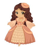 Принцесса Chibi стоковые фото