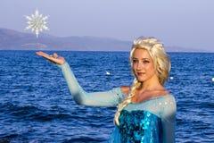 Принцесса Elsa замороженного стоковое изображение