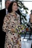 ПРИНЦЕССА MARY ПОСЕЩЕНИЕ CIFF_FASHION НЕДЕЛЯ Стоковые Фотографии RF