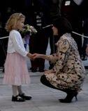 ПРИНЦЕССА MARY ПОСЕЩЕНИЕ CIFF_FASHION НЕДЕЛЯ Стоковые Фото