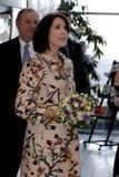 ПРИНЦЕССА MARY ПОСЕЩЕНИЕ CIFF_FASHION НЕДЕЛЯ Стоковое фото RF