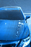 принципиальная схема автомобиля футуристическая Стоковые Фотографии RF