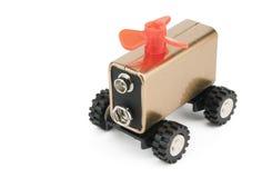 принципиальная схема автомобиля электрическая Стоковая Фотография RF