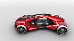 принципиальная схема автомобиля Иллюстрация штока