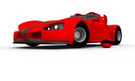 принципиальная схема автомобиля 3d представила спорты Иллюстрация штока