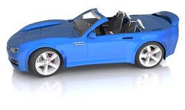 принципиальная схема автомобиля 3d представила спорты Стоковая Фотография