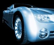 принципиальная схема автомобиля Стоковое фото RF