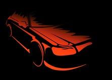 принципиальная схема автомобиля Стоковые Фото