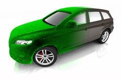 Принципиальная схема автомобиля Eco Стоковая Фотография