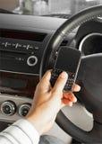 Принципиальная схема безопасности автомобиля и дороги Стоковые Фотографии RF