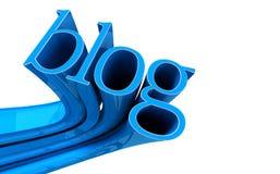 принципиальная схема блога иллюстрация вектора