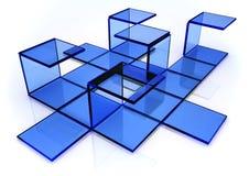 принципиальная схема блока Стоковая Фотография