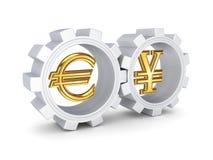 Принципиальная схема валют. Стоковое фото RF