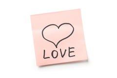 Принципиальная схема влюбленности Стоковые Фото