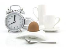 Принципиальная схема времени завтрака Стоковая Фотография RF