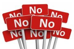 Принципиальная схема голосовать и протеста Стоковая Фотография RF