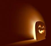 Принципиальная схема двери Halloween иллюстрация штока
