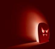 Принципиальная схема двери Halloween бесплатная иллюстрация