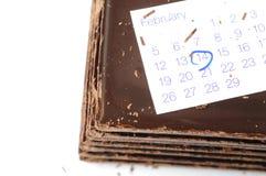 Принципиальная схема дня Валентайн Стоковая Фотография RF