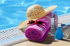 Принципиальная схема жары лета Стоковые Изображения RF