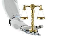 Принципиальная схема закона кибер Стоковое Фото