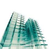 принципиальная схема здания Стоковая Фотография