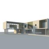 принципиальная схема здания Стоковые Изображения