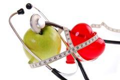 Принципиальная схема здорового диетпитания Стоковое Изображение RF