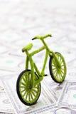Принципиальная схема иконы велосипеда Eco Стоковое Изображение RF