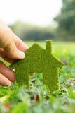 Принципиальная схема иконы дома Eco Стоковая Фотография RF