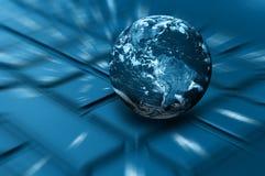 Принципиальная схема интернета