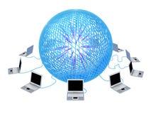 Принципиальная схема интернета стоковые фотографии rf