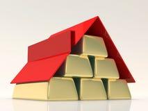 Принципиальная схема ипотеки Стоковое Изображение