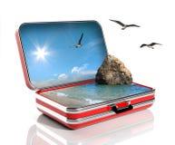 Принципиальная схема каникулы лета Стоковые Фотографии RF
