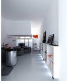 принципиальная схема квартиры Стоковые Изображения RF