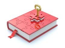 принципиальная схема книги Стоковое Изображение RF