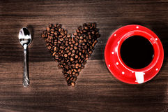 Принципиальная схема кофе Стоковые Фотографии RF