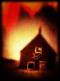 Принципиальная схема крышки книги ужаса Стоковая Фотография RF